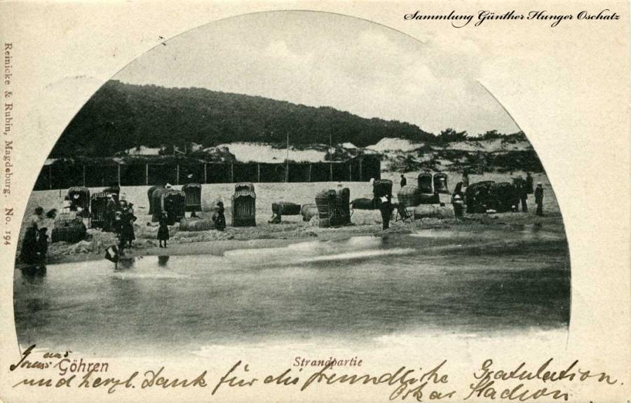 Göhren Strandpartie