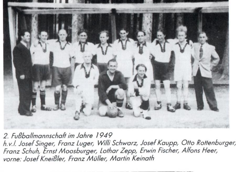 2 Mannschaft 1949