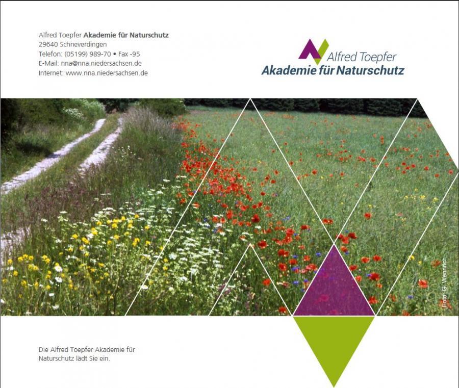 Flyer Alfred Töpfer Akademie für Naturschutz