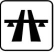 Autobahn-Entfernung