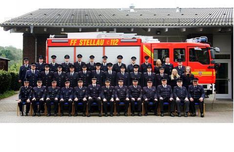 Feuerwehr-Truppe