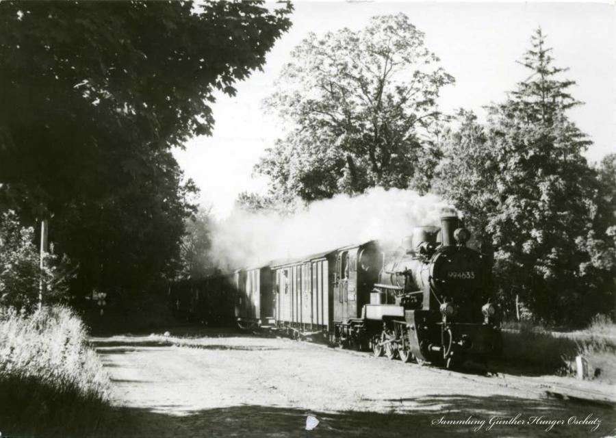 11 Schmalspurbahn Putbus-Göhren 1985