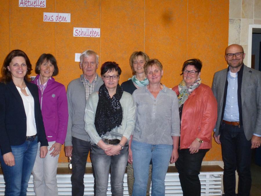 Vorstandschaft Förderverein Dr.-von-Ringseis-Grundschule