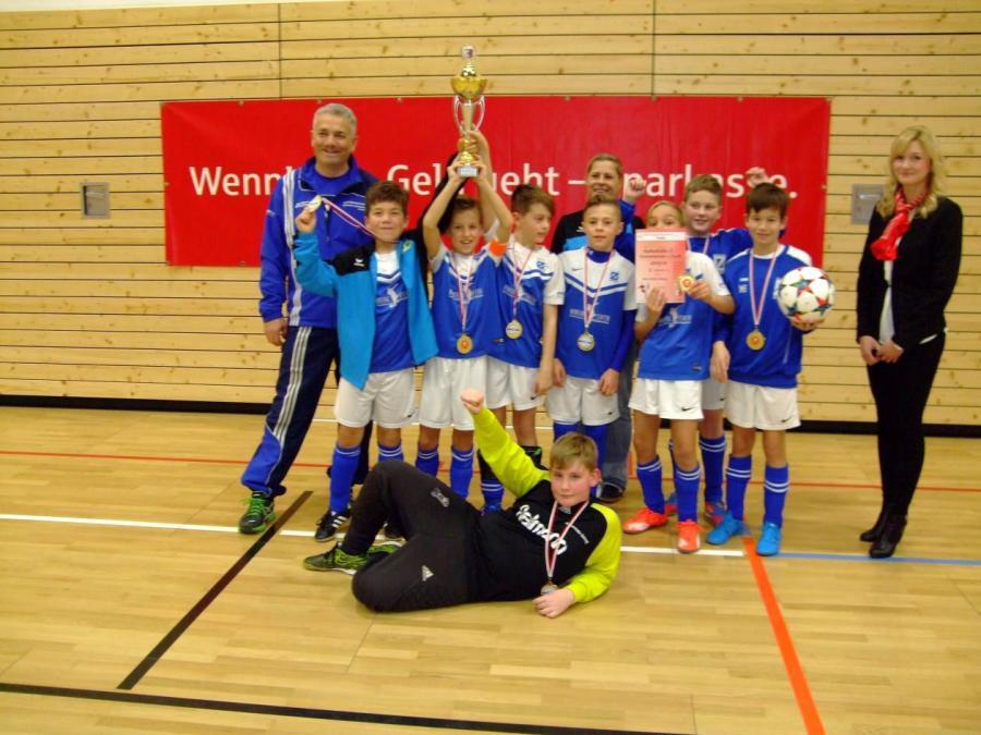 Hallenkreismeister der E-Junioren: Blau-Weiß Zorbau
