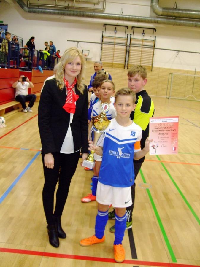 Auszeichnung HK-Meister F-JuniorenE