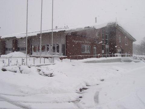 In den Wintern 2006, 2009 und 2010 war es schwer, das Gelände laufend von Schnee freizuhalten