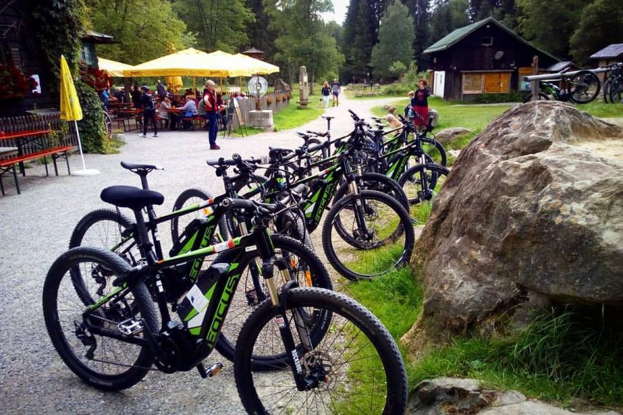 E-Bike- Ausflug ins Schwellhäusl