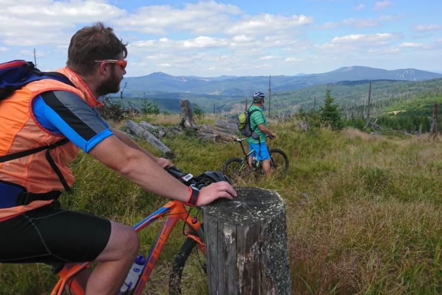 Radfahren & Mountainbiken rund um Bayerisch Eisenstein
