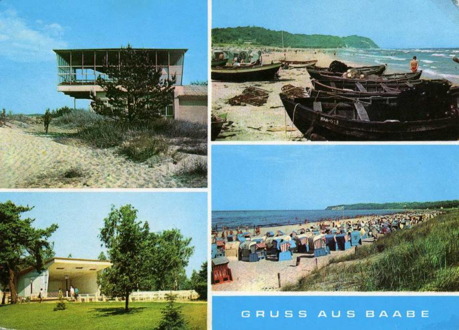 Gruss aus Baabe 1972