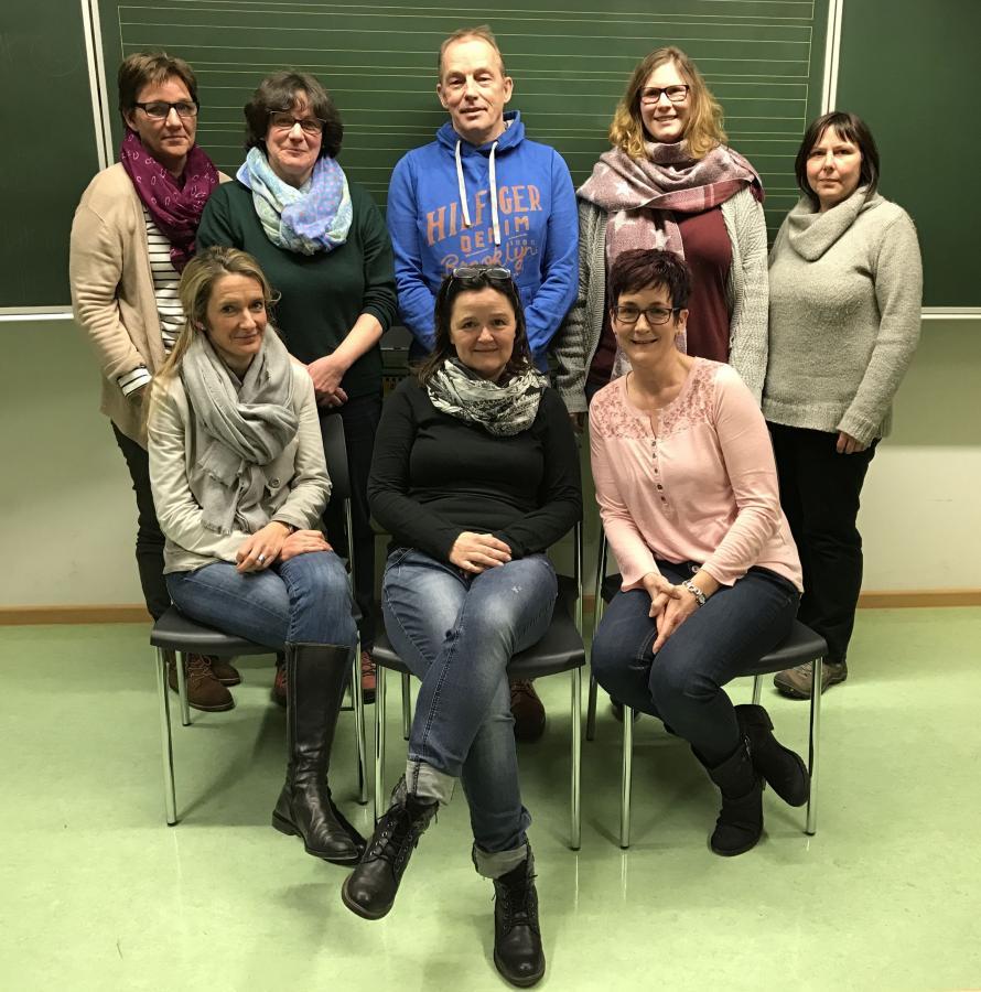 2017 Vorstand Förderverein