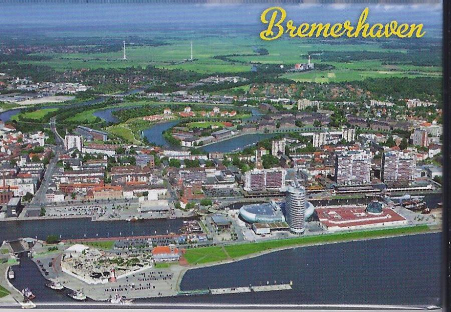 80002 Fotomagnet Bremerhaven