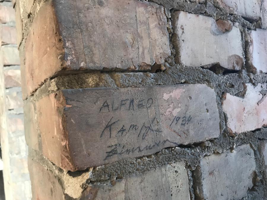 alte Inschrift