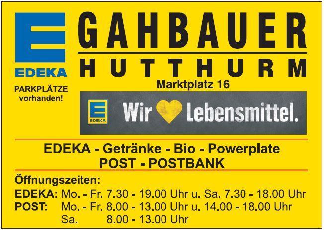 EDEKA-Gahbauer Logo