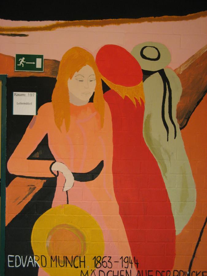 Edvard Munch, Mädchen auf der Brücke