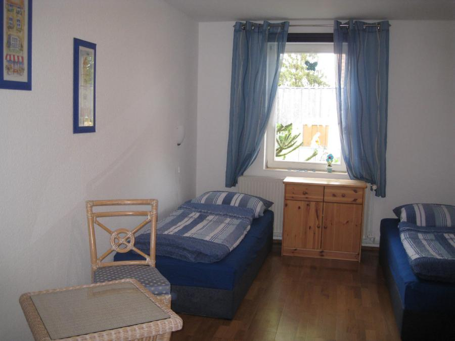 Kinderzimmer/Zweibettzimmer im Erdgeschoß