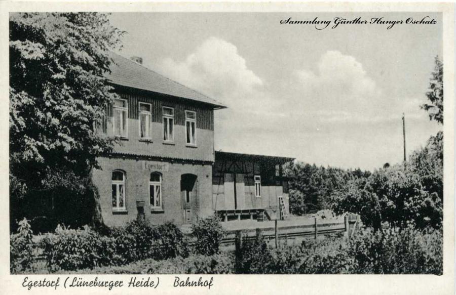 Egestorf Lühneburger Heide Bahnhof