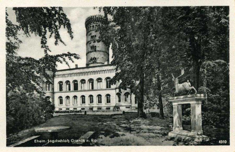 Ehem.Jagdschloß Granitz a. Rg.