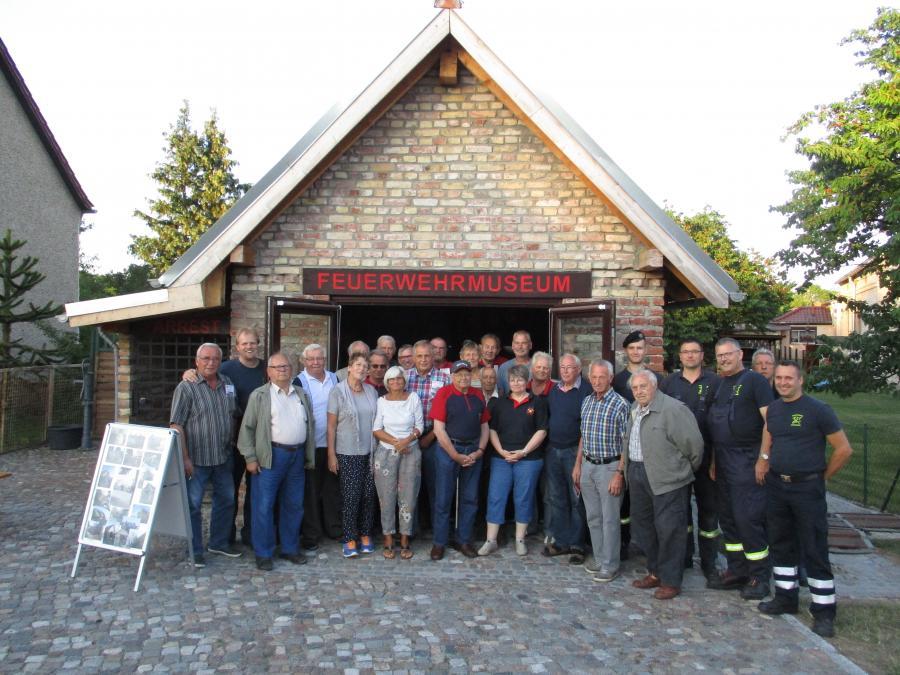 Ehrenabteilung im Feuerwehrmuseum Görsdorf