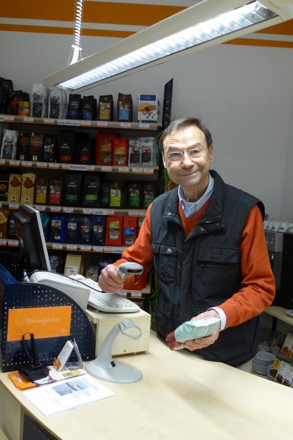 Ehrenamtliches Engagement im Laden
