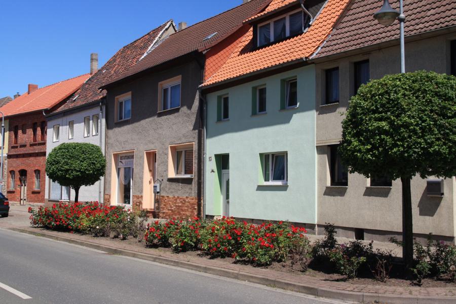 Ein Blick in die Stadt Gröningen