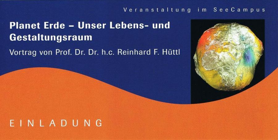 Vortrag Prof. Hüttl
