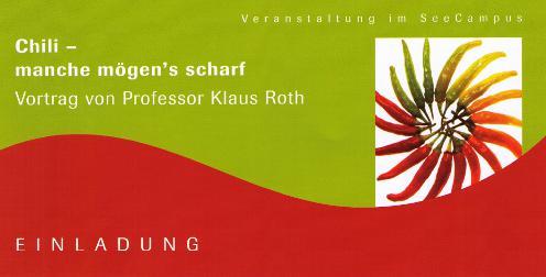 Vortrag Prof. Roth