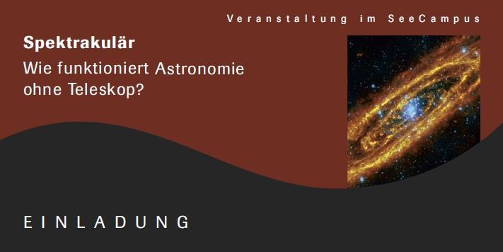 Vortrag Astronomie