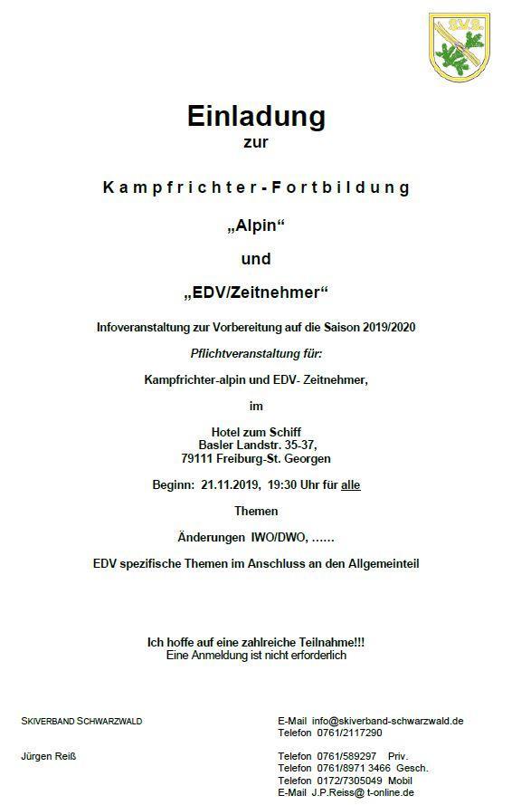 Einladung KR