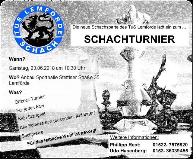 Einladung Schach