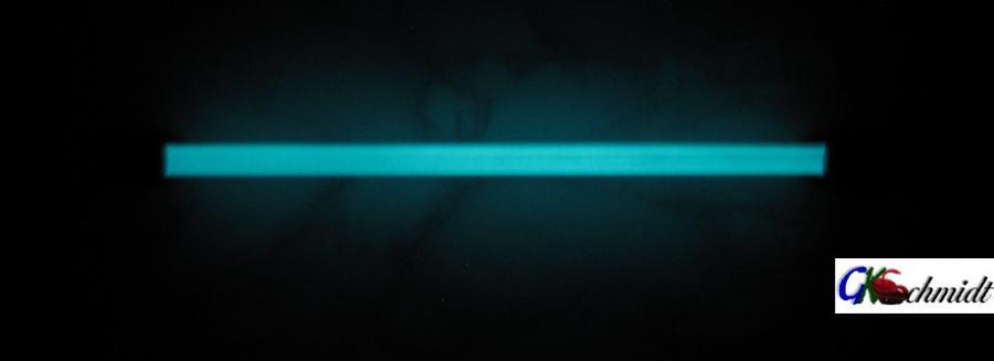 Einzelstab Griff geschlossene Halter, lumineszierend (am Tage Elfenbeinfarben)