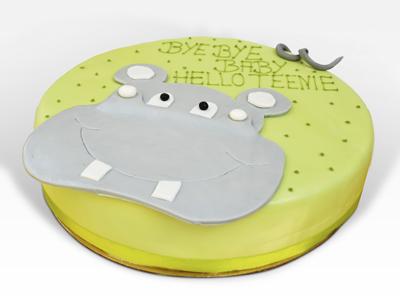 Nilpferd Torte