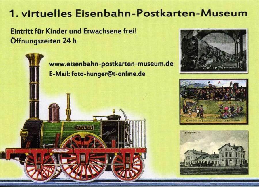 Eisenbahn-Postkarten-Museum