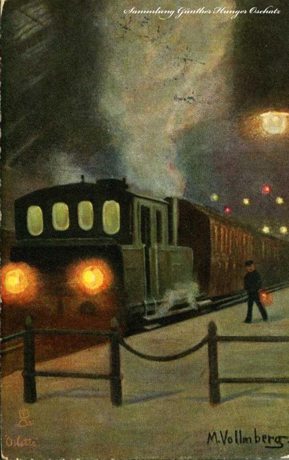 Eisenbahn bei Nacht