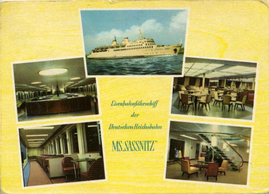 Eisenbahnfährschiff MS Sassnitz