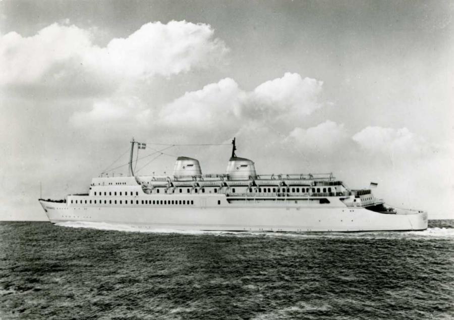 Eisenbahnfährschiff 1959