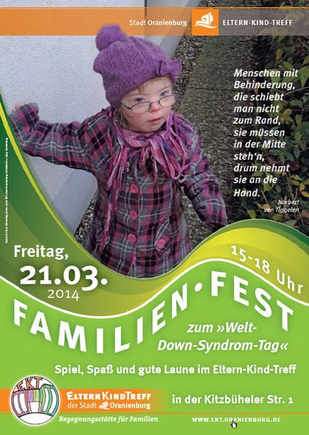 Plakat Familienfest WDST 2014