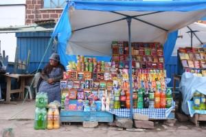 Straßenstand in Bolivien