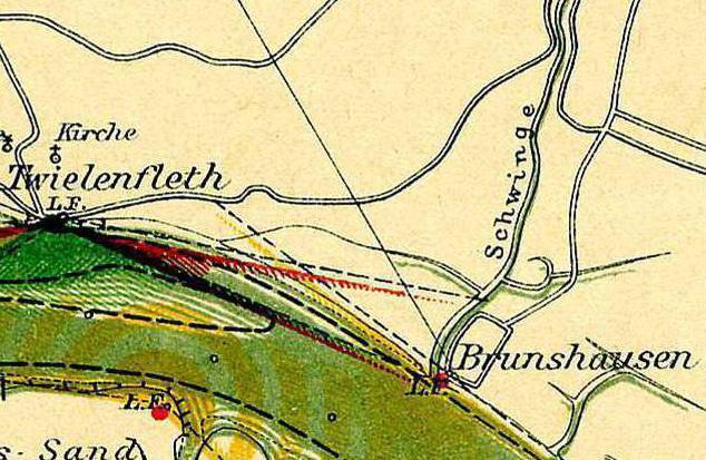 Karte Brunshausen