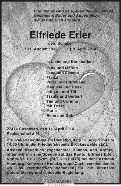 Elfriede Erler