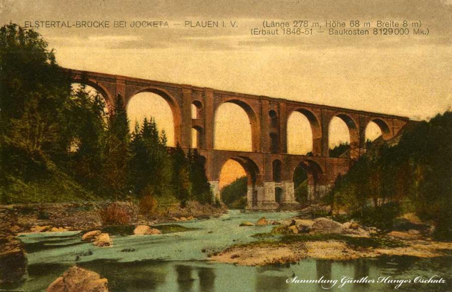 Elstertal-Brücke bei Jocketa