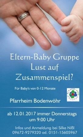 Eltern-Baby-Gruppe