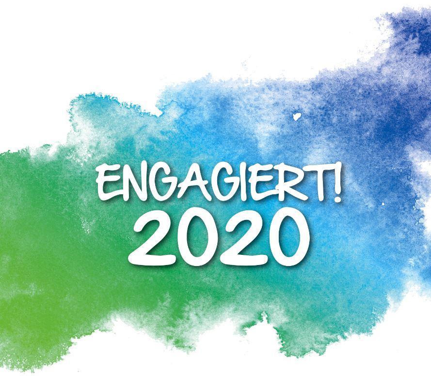"""""""Engagiert 2020"""" - Eine Veranstaltung der Maintaler Freiwilligenagentur, das Bild zeigt das Logo"""