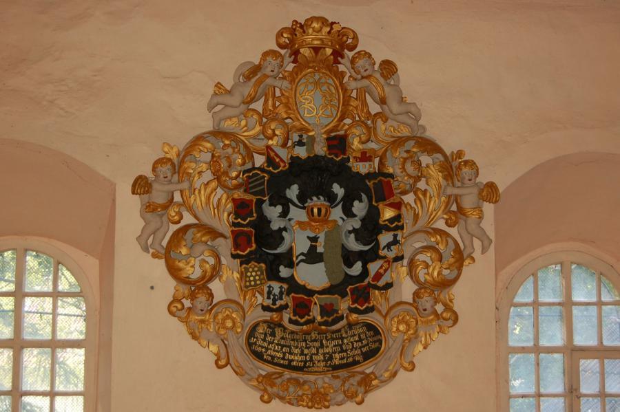Epitaphe in der St. Staphanus Kirche Ottleben