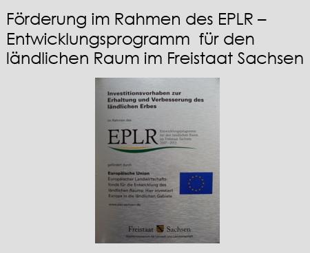 EPLR – Entwicklungsprogramm  für den ländlichen Raum im Freistaat Sachsen