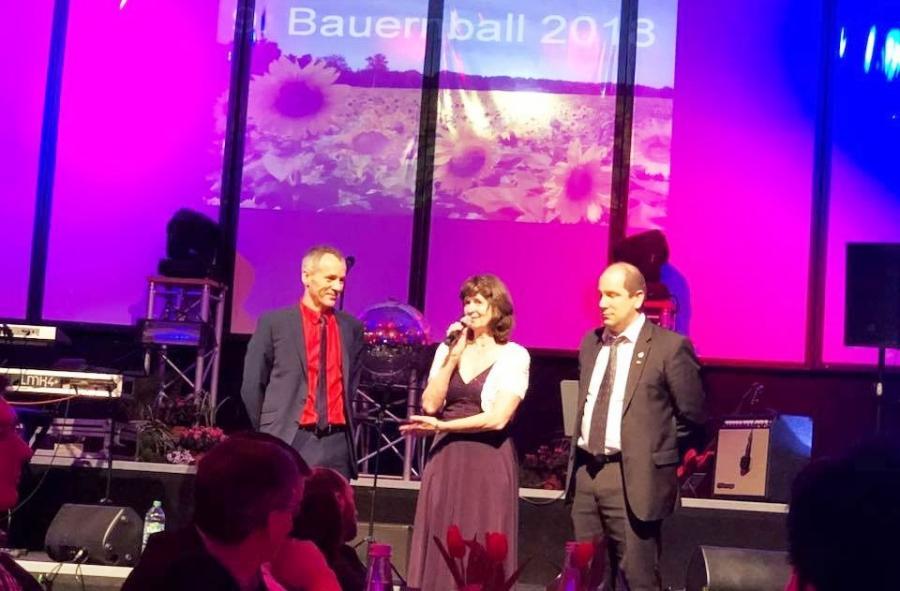 Eröffnung des 9. Bauernballs in Luckau
