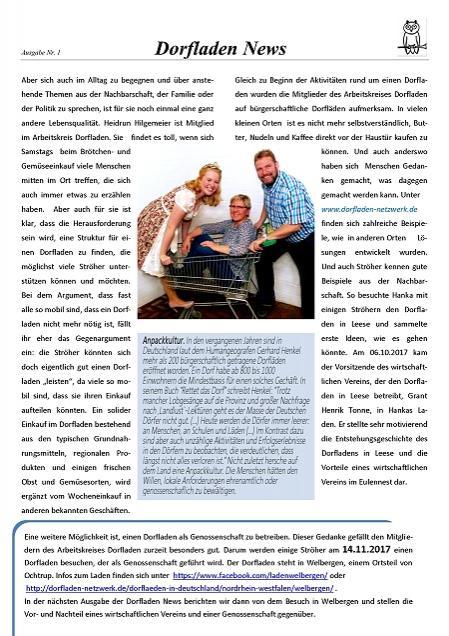 Dorfladen-News 1-2