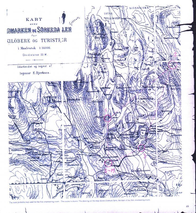 erste OL-Karte