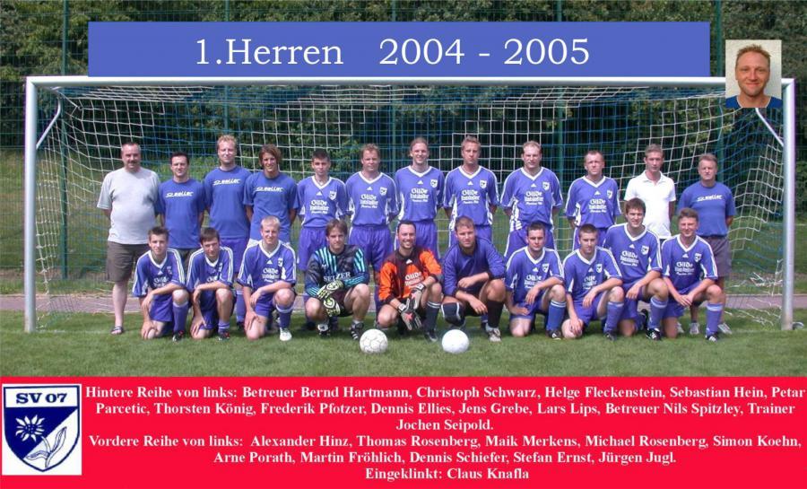 1. Herren 2004 - 2005