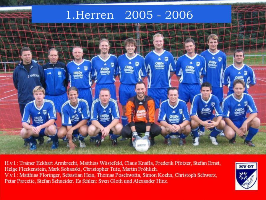 1.Herren 2005 - 2006