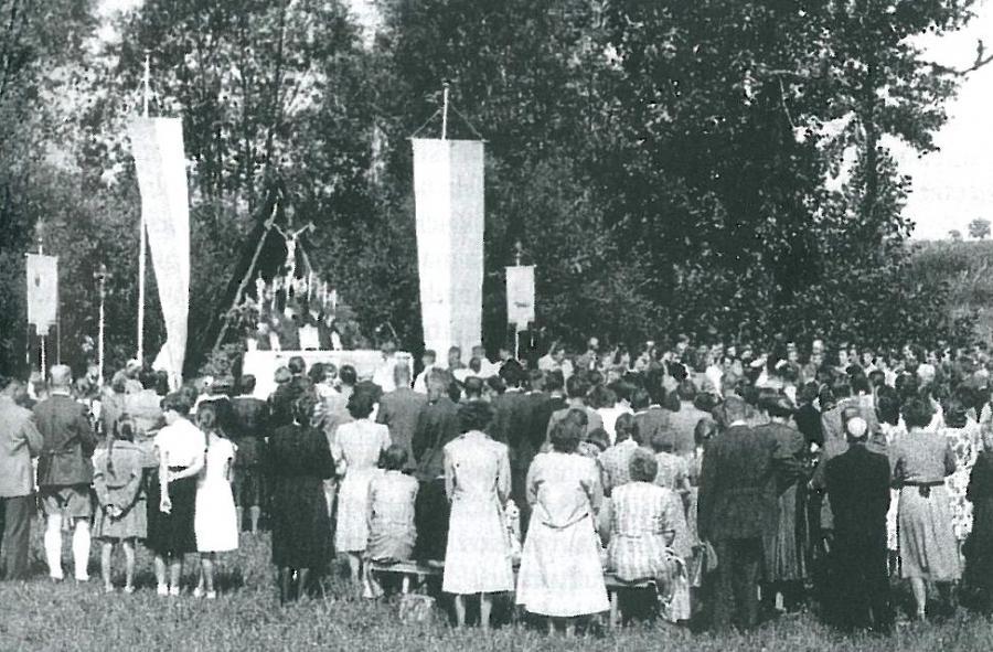 1. Vinzenzifest 1952 auf der Schützenwiese